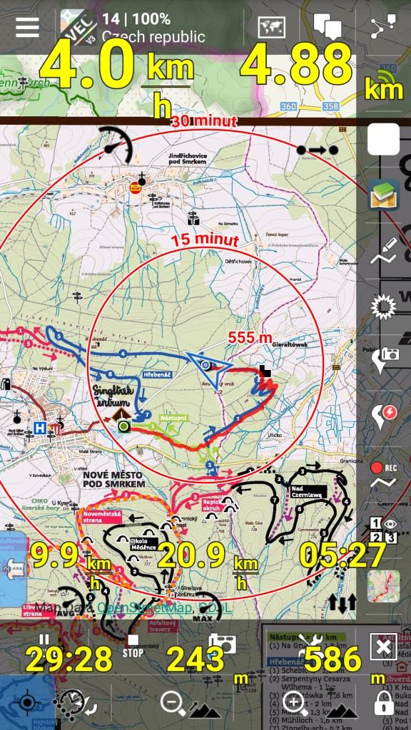 Navigační systém Carpe Iter