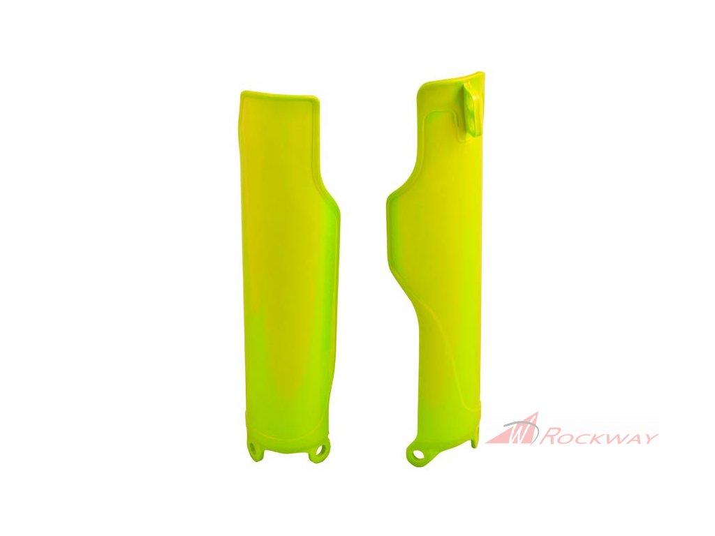 Chrániče vidlic Honda, RTECH (neon žluté, pár)