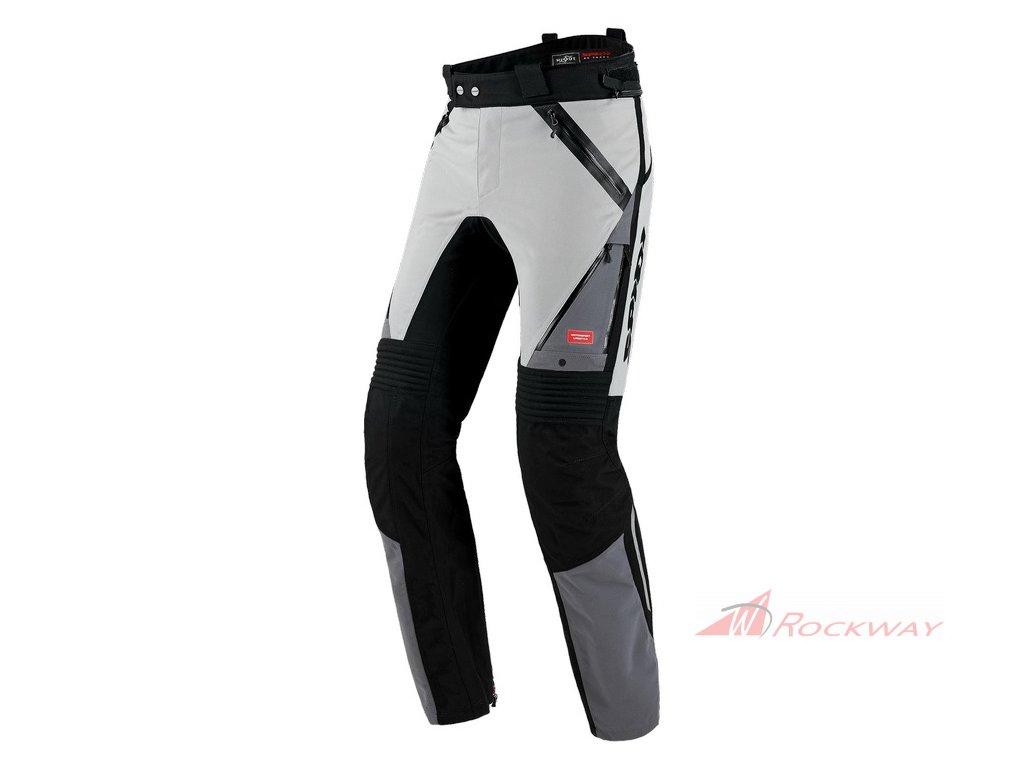 Kalhoty GLOBETRACKER, SPIDI (světle šedá/černá)