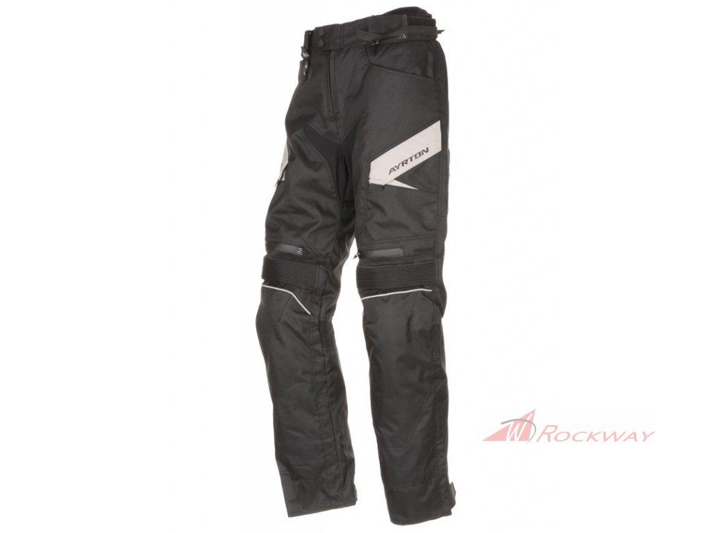 ZKRÁCENÉ kalhoty Brock, AYRTON (černé/šedé)