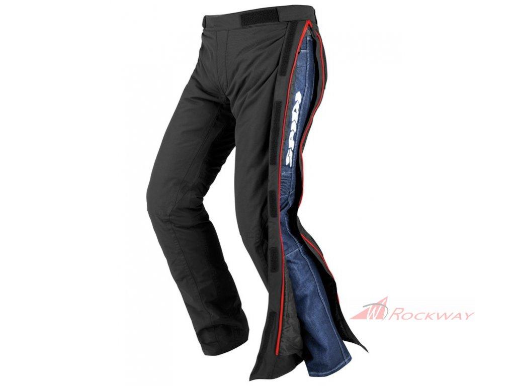 Kalhoty převlekové SUPERSTORM H2OUT, SPIDI - Itálie (černé)