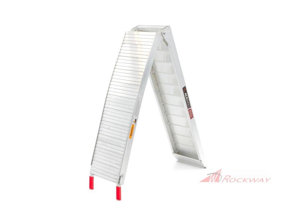 ACEBIKES (340kg) skládací hliníková nájezdová rampa 1