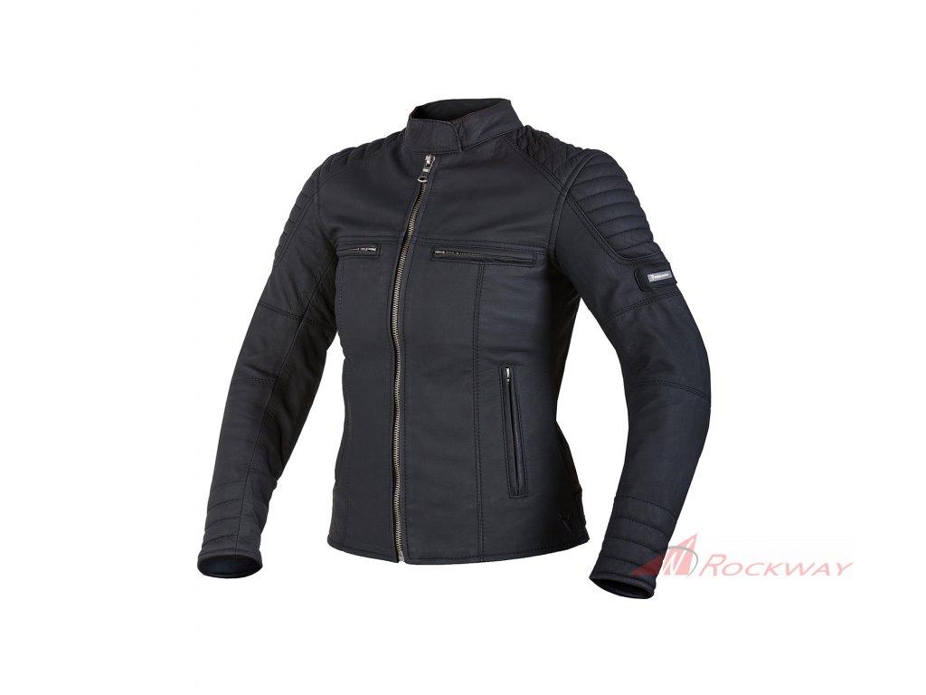 3ee599330 Dámská kožená bunda REBELHORN Hunter Pro černá   Rockway.cz