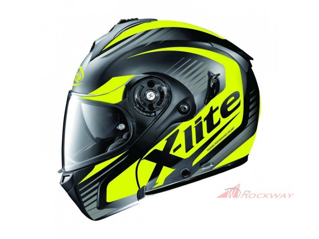 moto helma x lite x 1004 nordhelle n com flat black 11