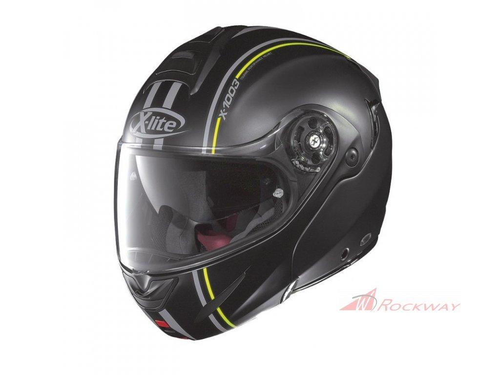moto helma x lite x 1003 millstatt n com flat black 14
