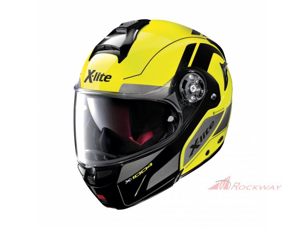 moto helma x lite x 1004 charismatic n com led yellow 22