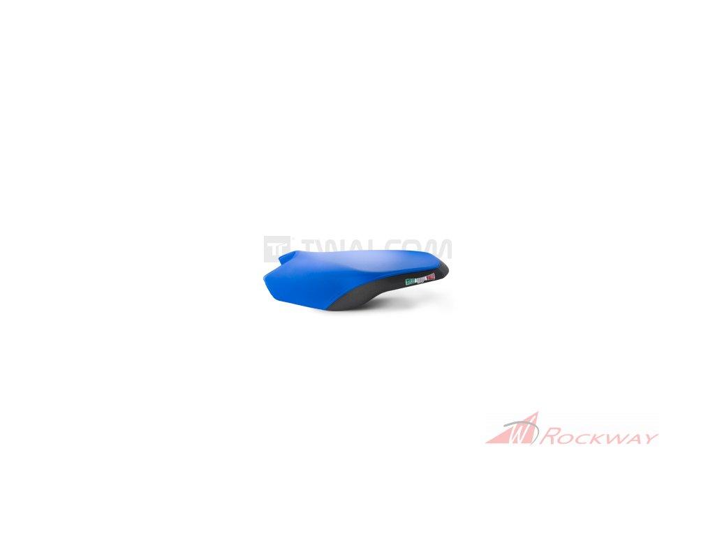 Potah sedla electric blue black pro rally s posltrovanim 1