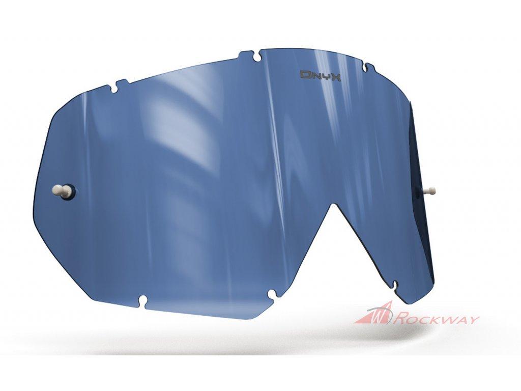 Plexi pro brýle THOR HERO/ENEMY, OnyxLenses (modré s polarizací)