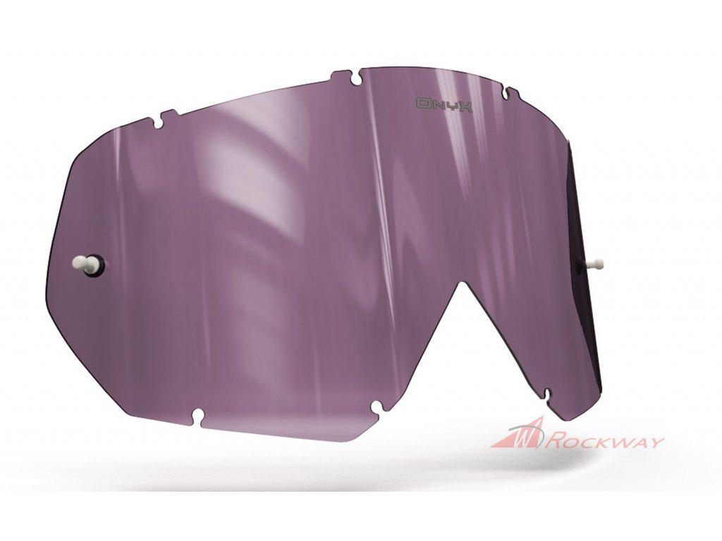 Plexi pro brýle THOR HERO/ENEMY, ONYX LENSES (fialové s polarizací)