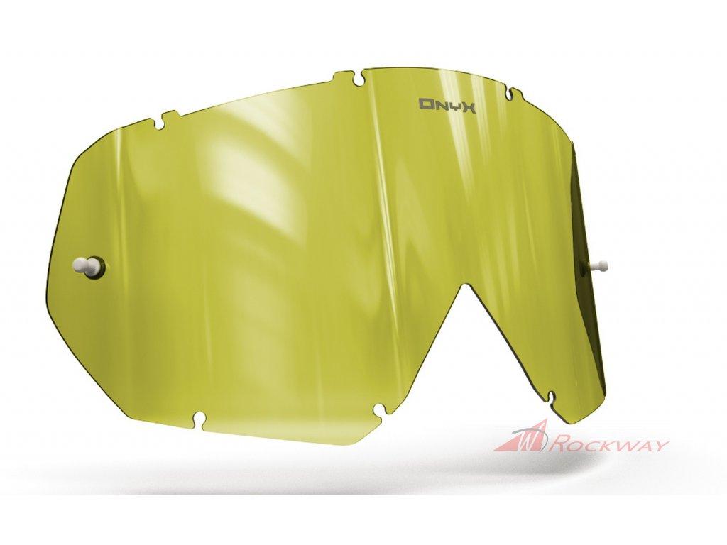 Plexi pro brýle THOR HERO/ENEMY, OnyxLenses (Hi-Vis žluté s polarizací)