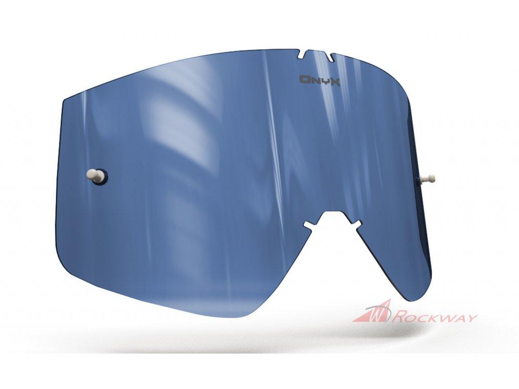 Plexi pro brýle THOR COMBAT/SNIPER/CONQUER, ONYX LENSES (modré s polarizací)