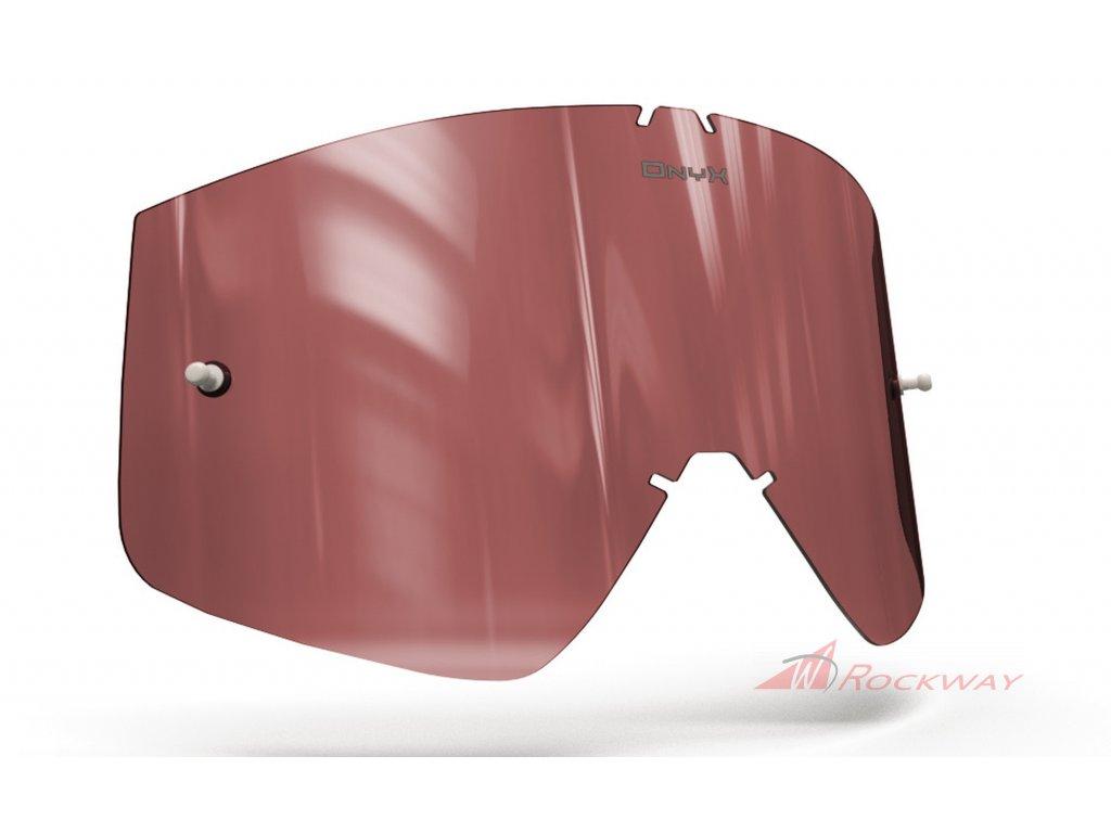 Plexi pro brýle THOR COMBAT/SNIPER/CONQUER, ONYX LENSES (červené s polarizací)