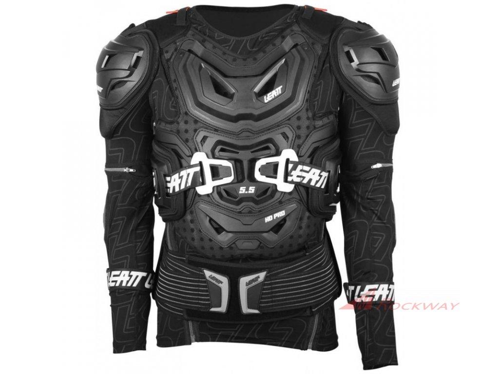 LEATT Body Protector 5.5 černý + zdarma podkolenky Rockway LIGHT