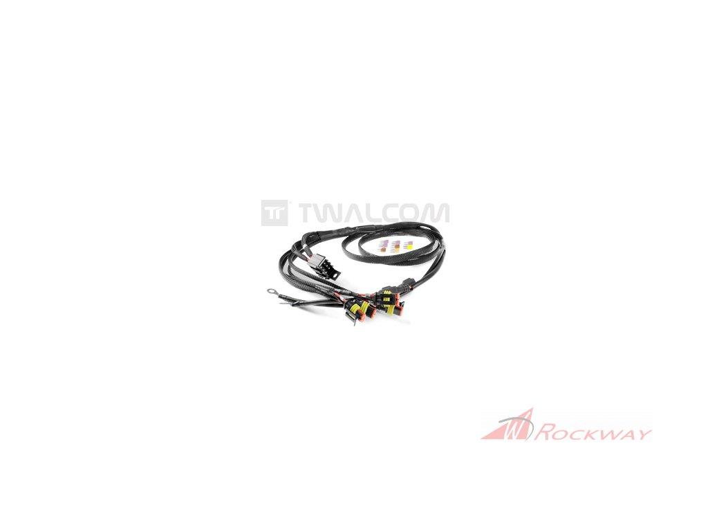 TT® - kompletní elektroinstalace + Fuse Box (4 mini pojistky)