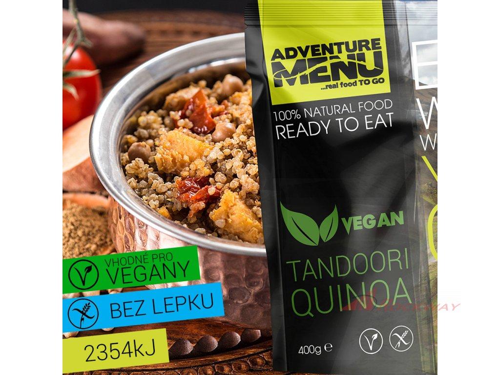 Adventure Menu - Tandoori Quinoa
