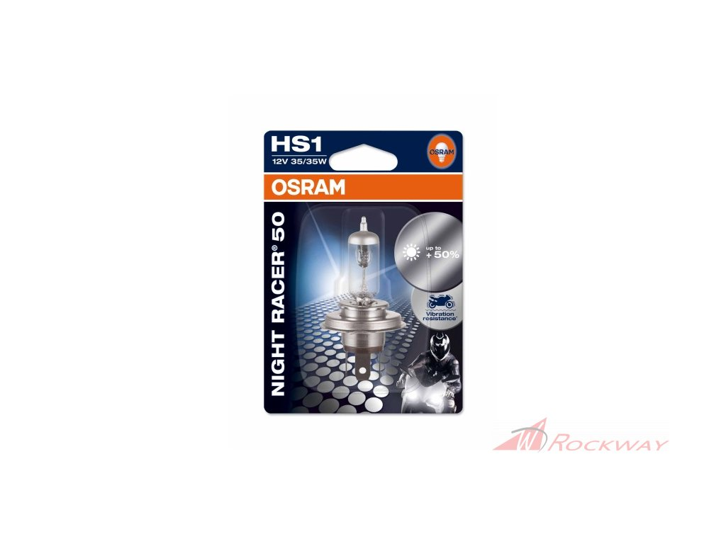 Žárovky OSRAM Night Racer 50 H4,H7,HS1