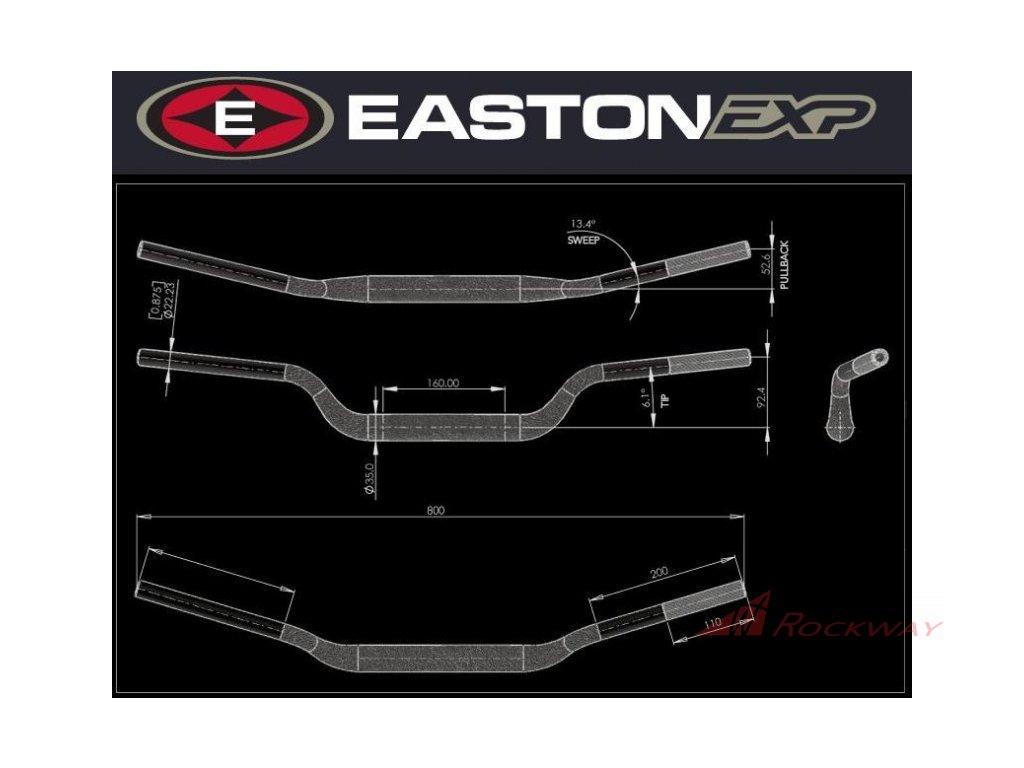Řídítka EASTON EXP EXP