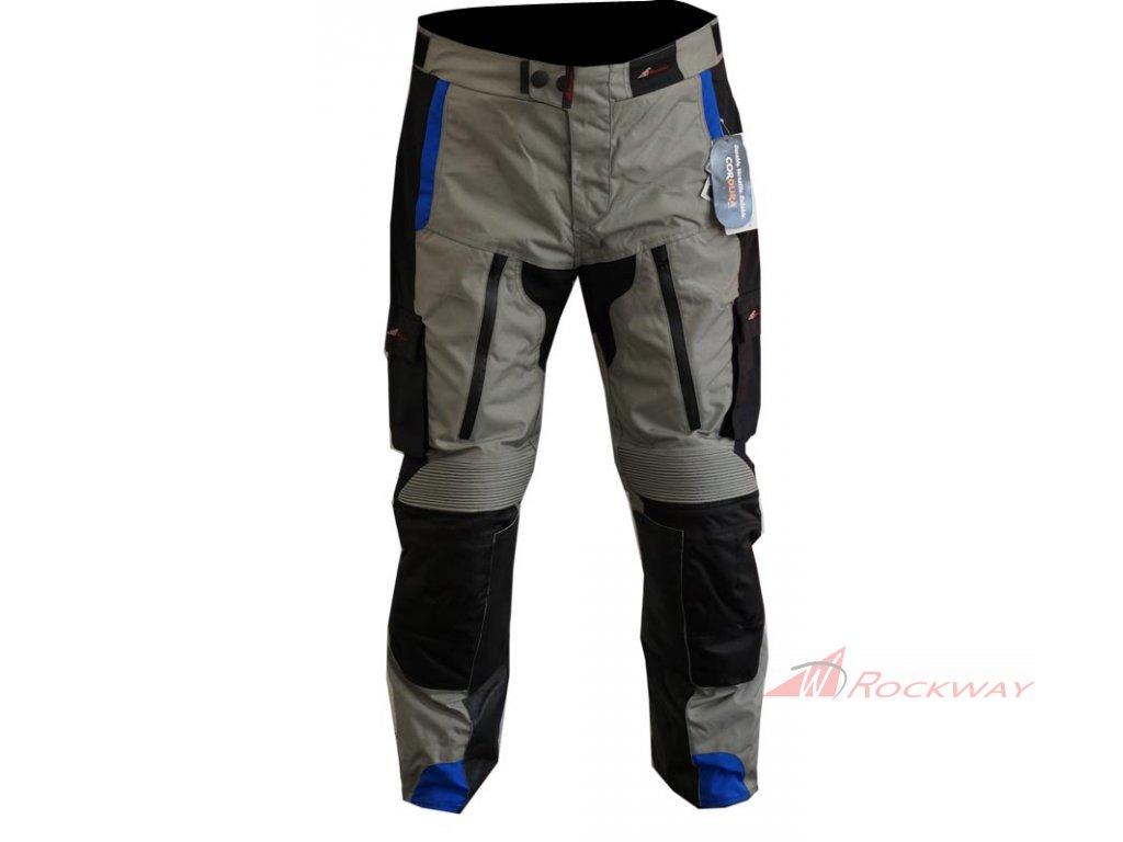 ROCKWAY Kalhoty na motorku Loner - tmavě modré
