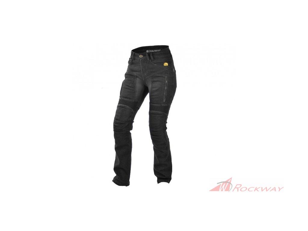 Dámské kevlarové kalhoty Trilobite Parado 661 black