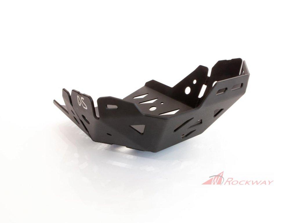 Hard Parts T700 Bashplate Black 01