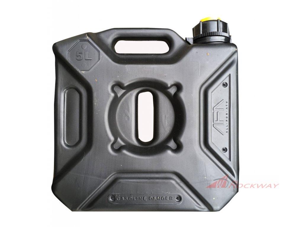 Kanystr na pohonné hmoty 5l - AFA - černý