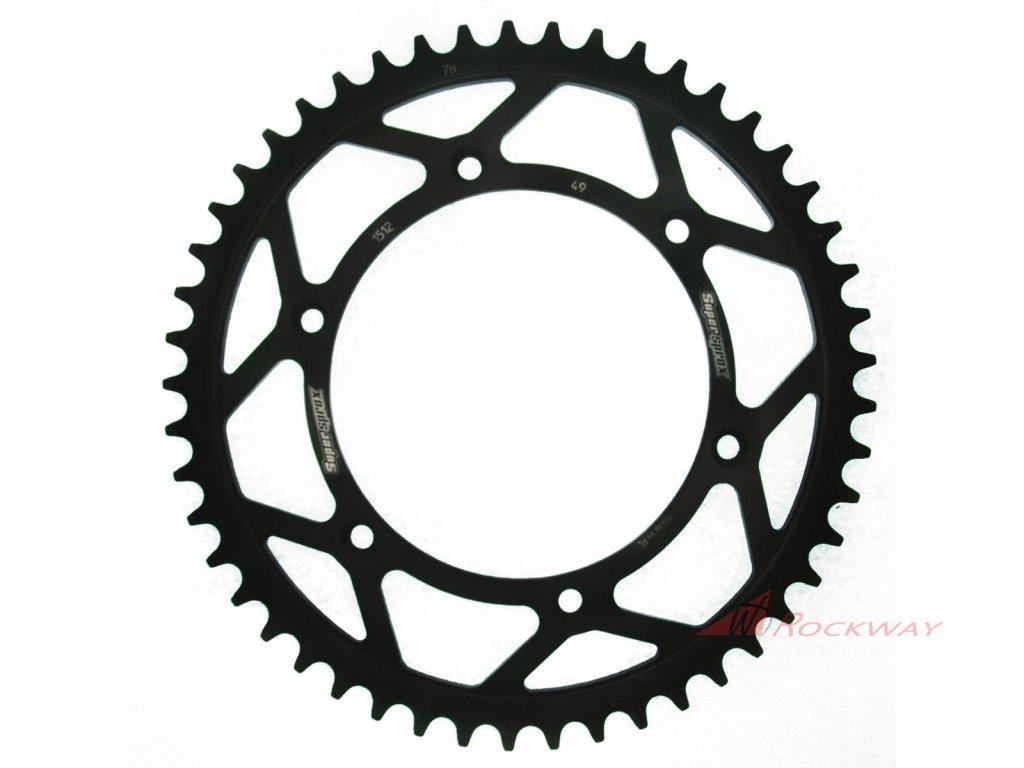 Ocelová rozeta pro SWM R500/300RS | Supersox | černá