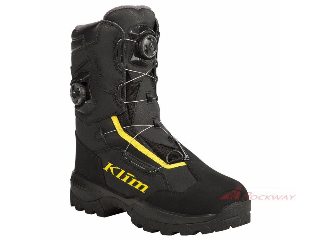 Adrenaline Pro GTX BOA Boot | KLIM | Rockway - BLACK