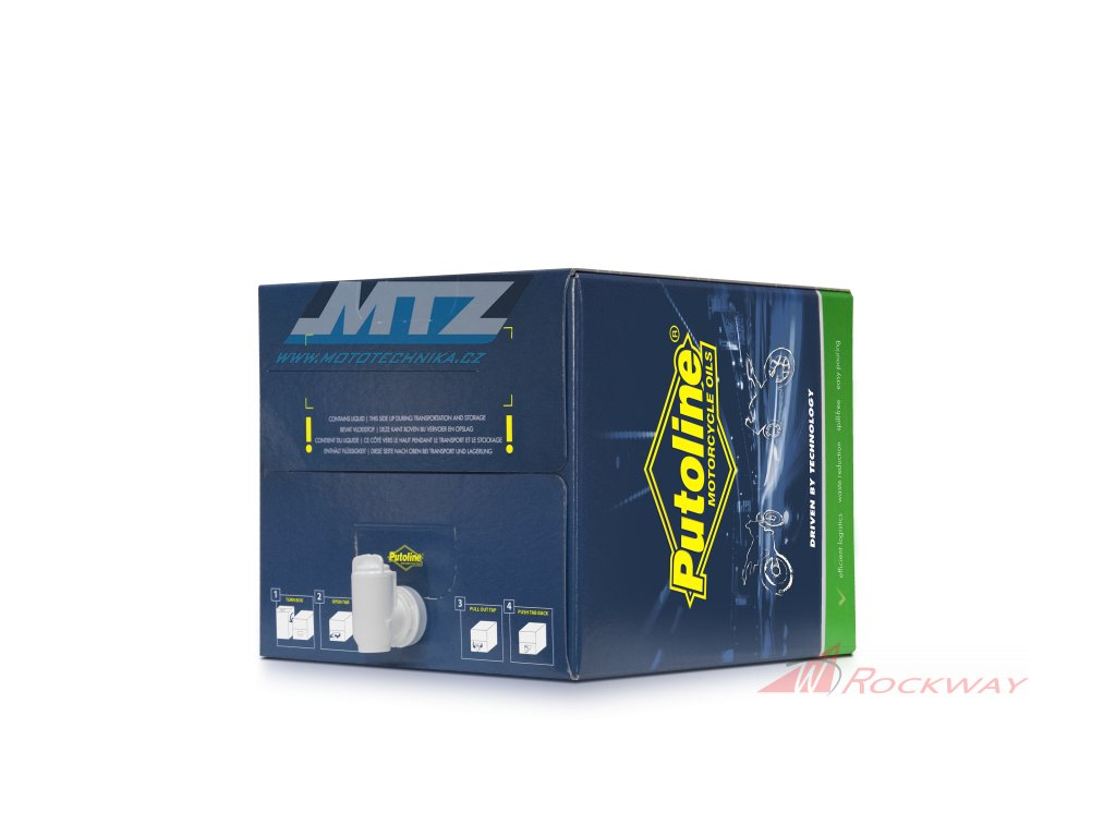 Rozlévaný Olej motorový motocyklový Putoline NTECH ProR+ OffRoad 10W/60 + filtr HF 652