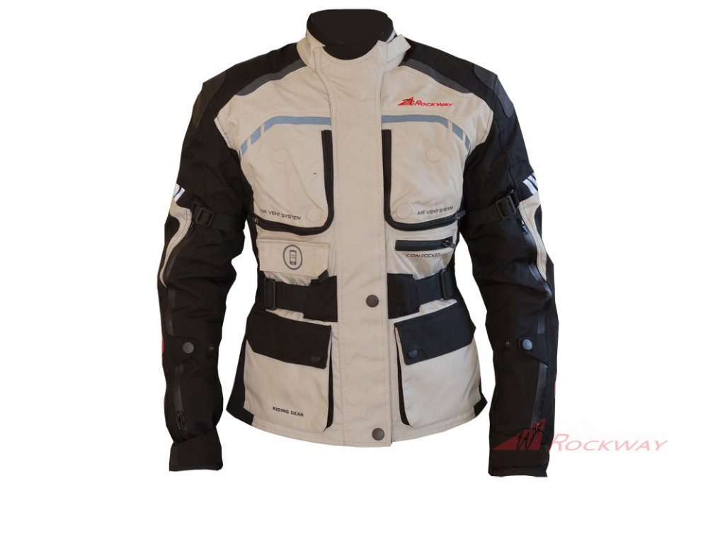 Dámská bunda na motorku Rockway Voyger 2018