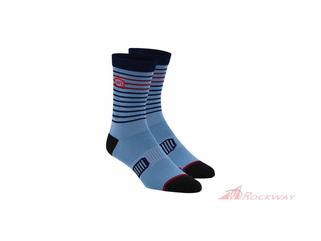 Ponožky ADVOCATE, 100% (modré)