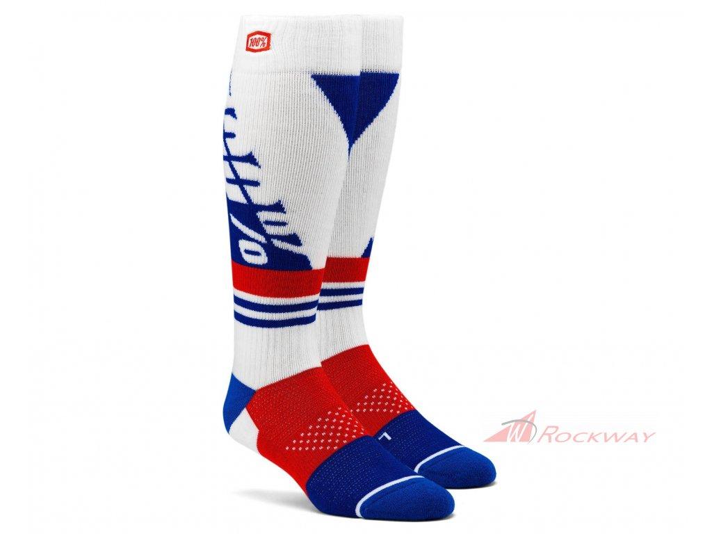 Ponožky TORQUE 100% (bílá)