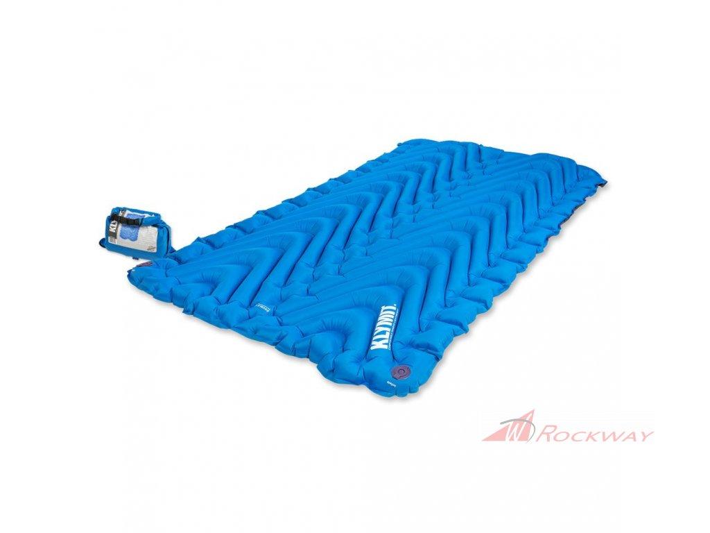 klymit double v sleeping pad 1