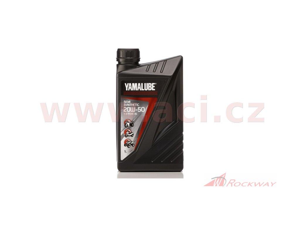 Polosyntetický olej YAMALUBE-20W50 - 1l, ORIGINÁL YAMAHA