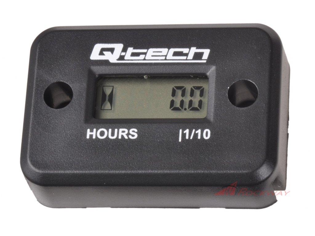 Měřič motohodin, Q-TECH (černý)