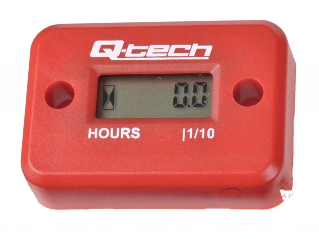 Měřič motohodin, Q-TECH (červený)