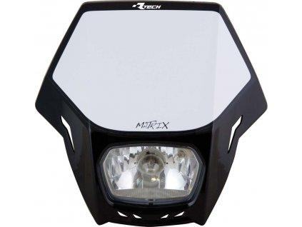 UNI přední maska včetně světla Matrix, RTECH (černá)