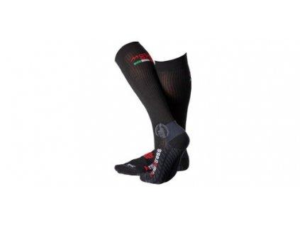 Ponožky dlouhé Los Angeles, MOTO ONE (černé)