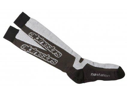 Ponožky TERMAL TECH Socks, ALPINESTARS (černé/šedé)