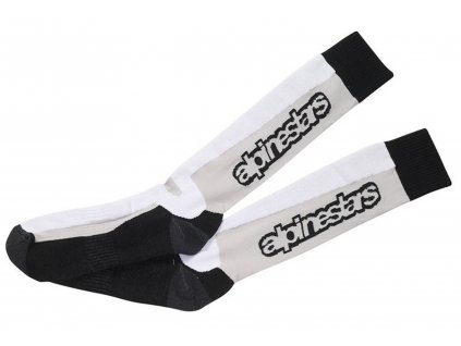 Ponožky TOURING SUMMER Socks, ALPINESTARS (černé/šedé/bílé)