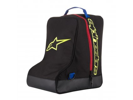 Taška na boty, ALPINESTARS (černá/modrá/žlutá fluo/červená)
