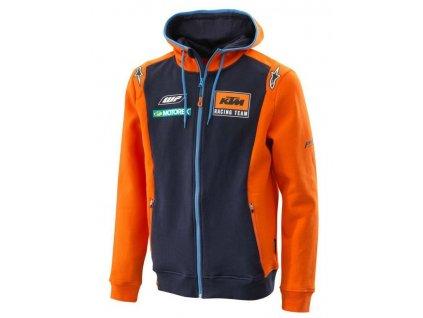 Mikina REPLICA TEAM KTM, (modrá/oranžová)