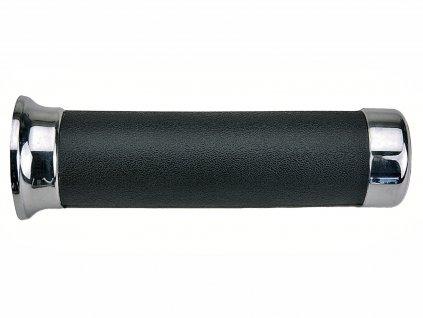 Gripy (custom) délka 145 mm, DOMINO (černé)