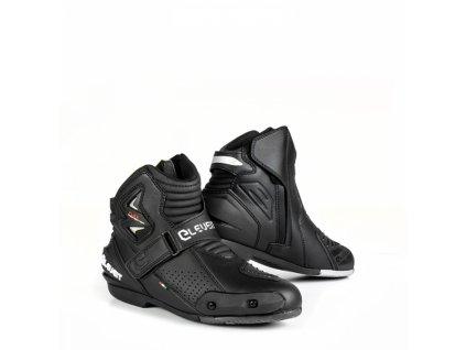 Moto boty ELEVEIT BOOSTER černé