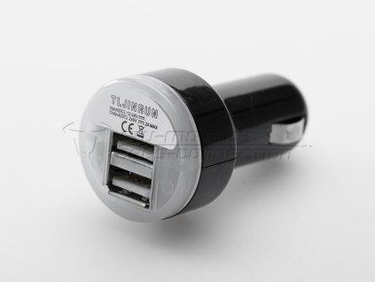 vyr 1142ema 00 107 12000 Doppel USB Adapter auf Zigarettenanz nderstecker 12 V