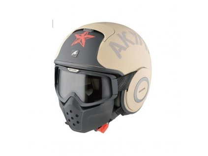 casco jet shark raw soyouz