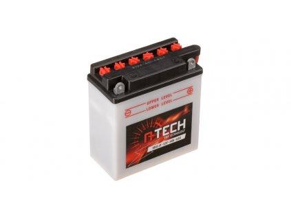 Baterie 12V, YB5 l-B, 5Ah, 65A, konvenční 120x60x130 A-TECH (vč. balení elektrolytu)