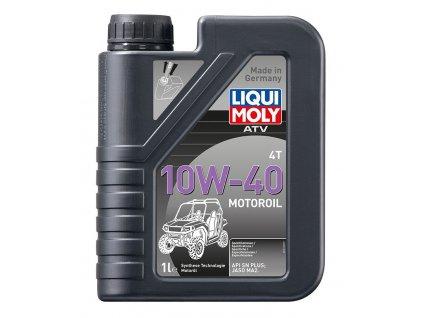 LIQUI MOLY ATV 4T Motoroil 10W40, polosyntetický motorový olej 1 l