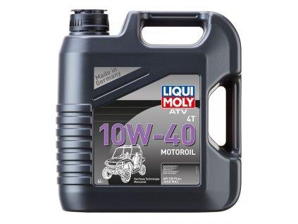 LIQUI MOLY ATV 4T Motoroil 10W40, polosyntetický motorový olej 4 l