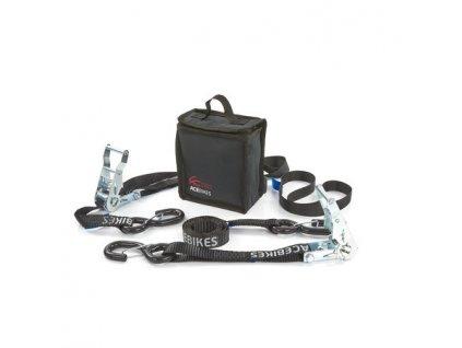 ACEBIKES Ratchet Kit Heavy Duty zesílené kurty s ráčnami a oky pro bezpečné kurtování motocyklu 1