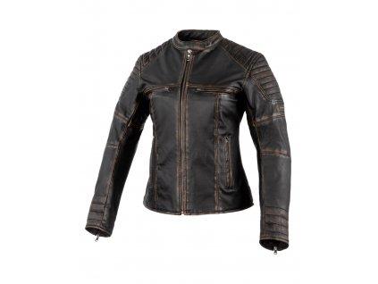 Dámská kožená bunda REBELHORN Hunter Pro Vintage černá